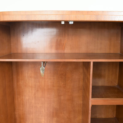 Walnut Veneer Wardrobe