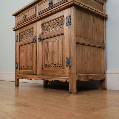 Old Charm Oak Sideboard