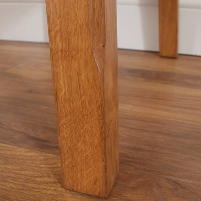 Rustic Oak Side Table