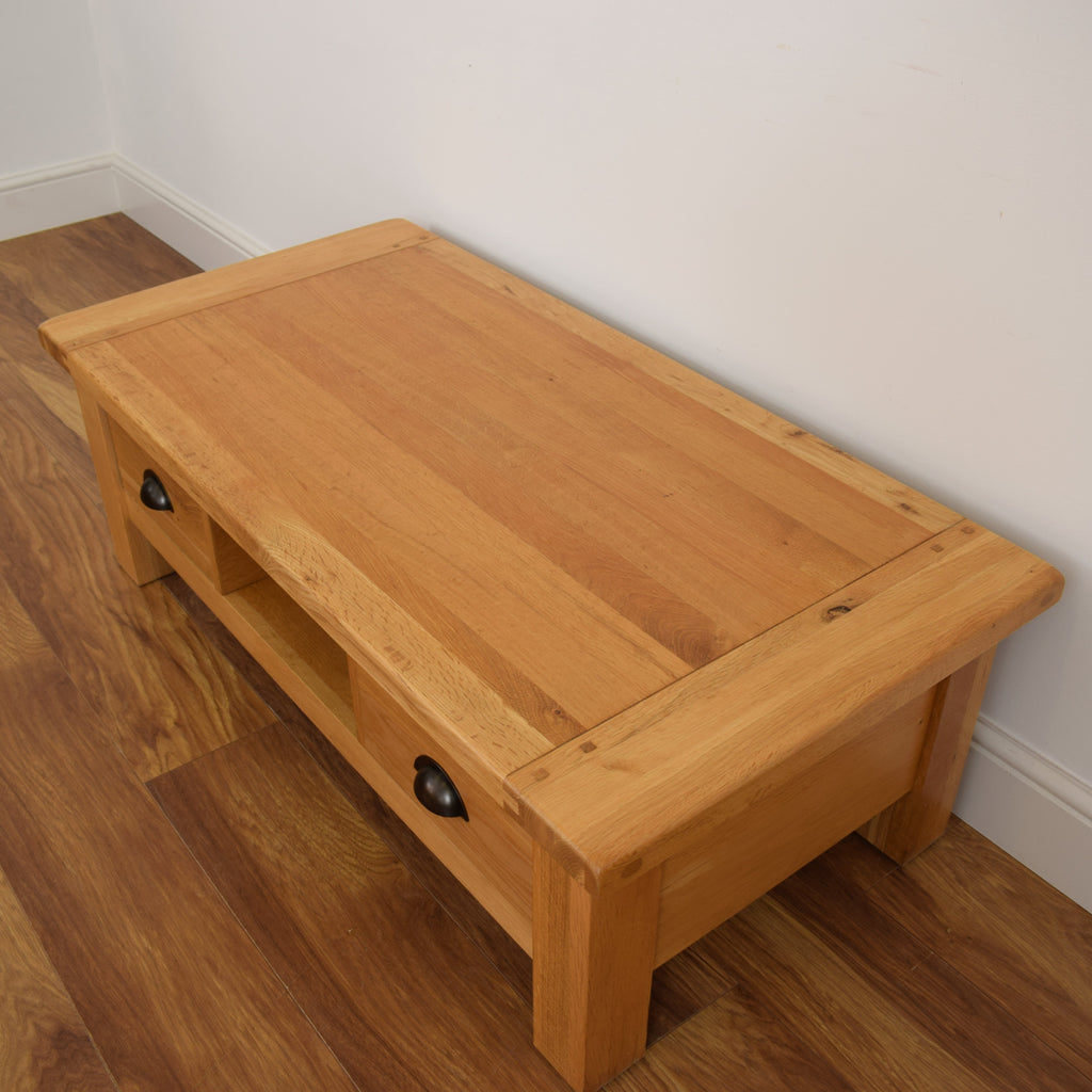 Light Oak Coffee Table