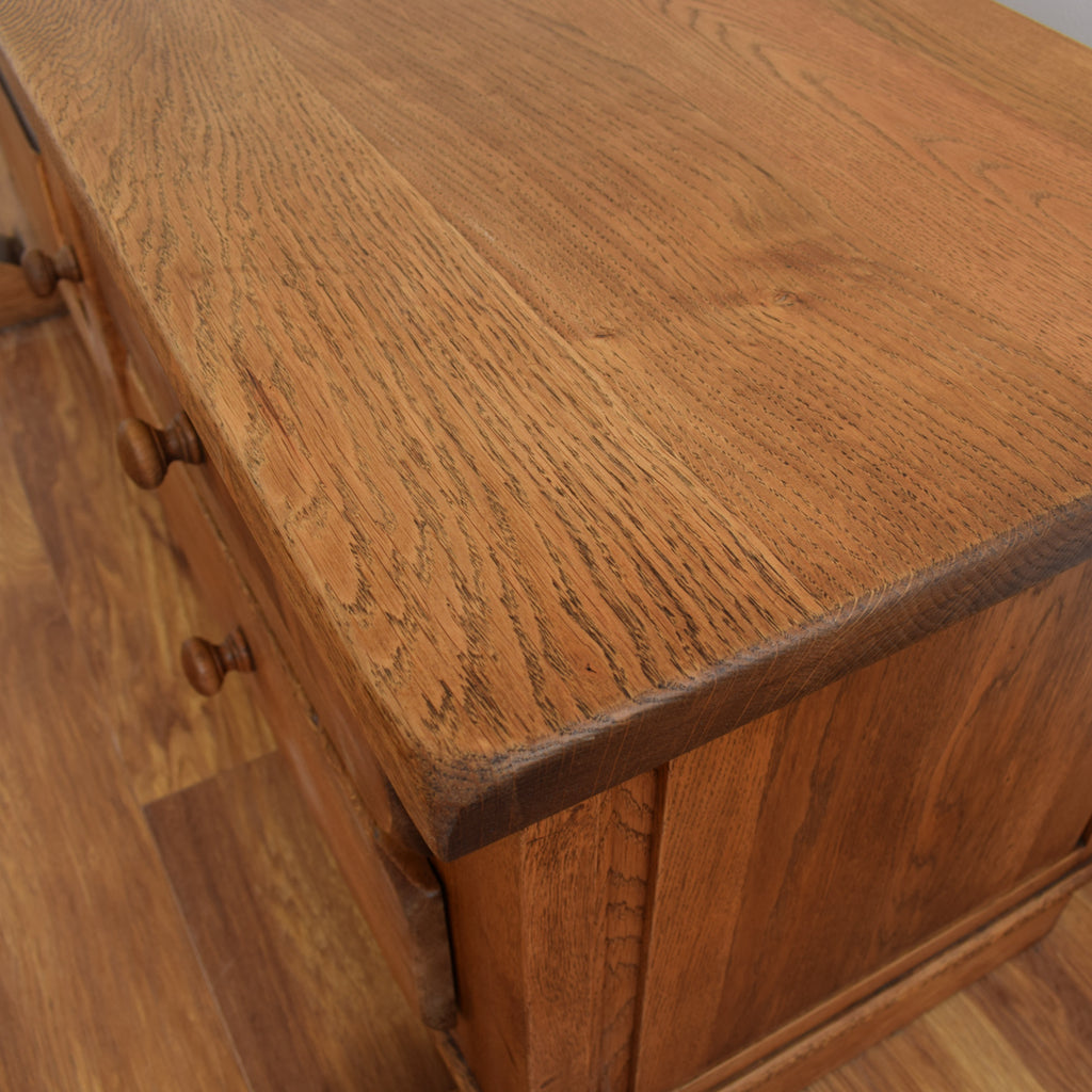 Dutch Oak Blanket Box