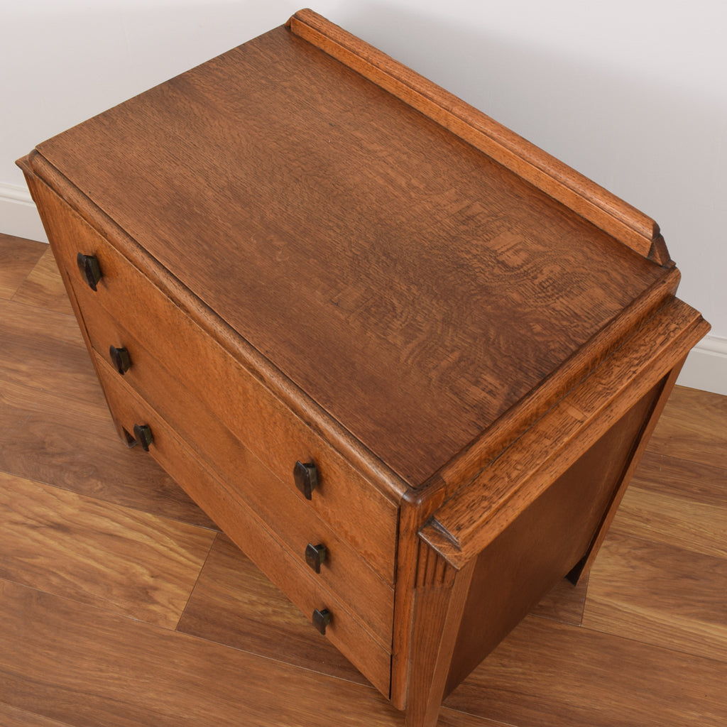 Restored Oak Chest of Drawers