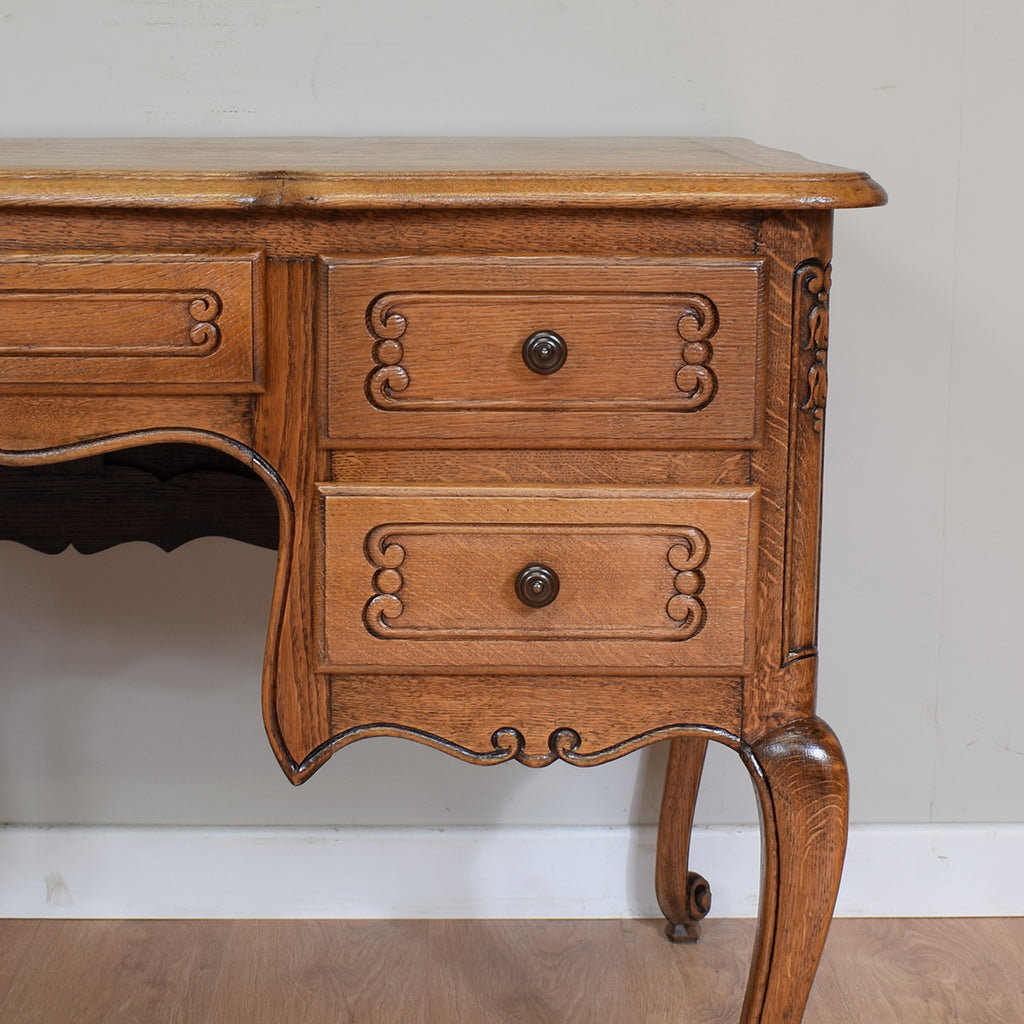 Vintage French Louis XV Style Restored Desk