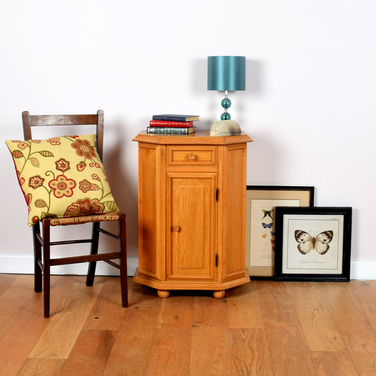 Blonde Oak Bedside