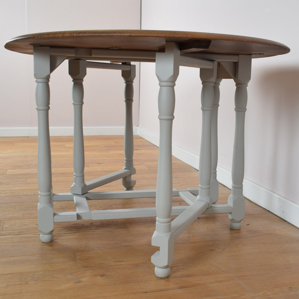 Vintage painted table and chairs