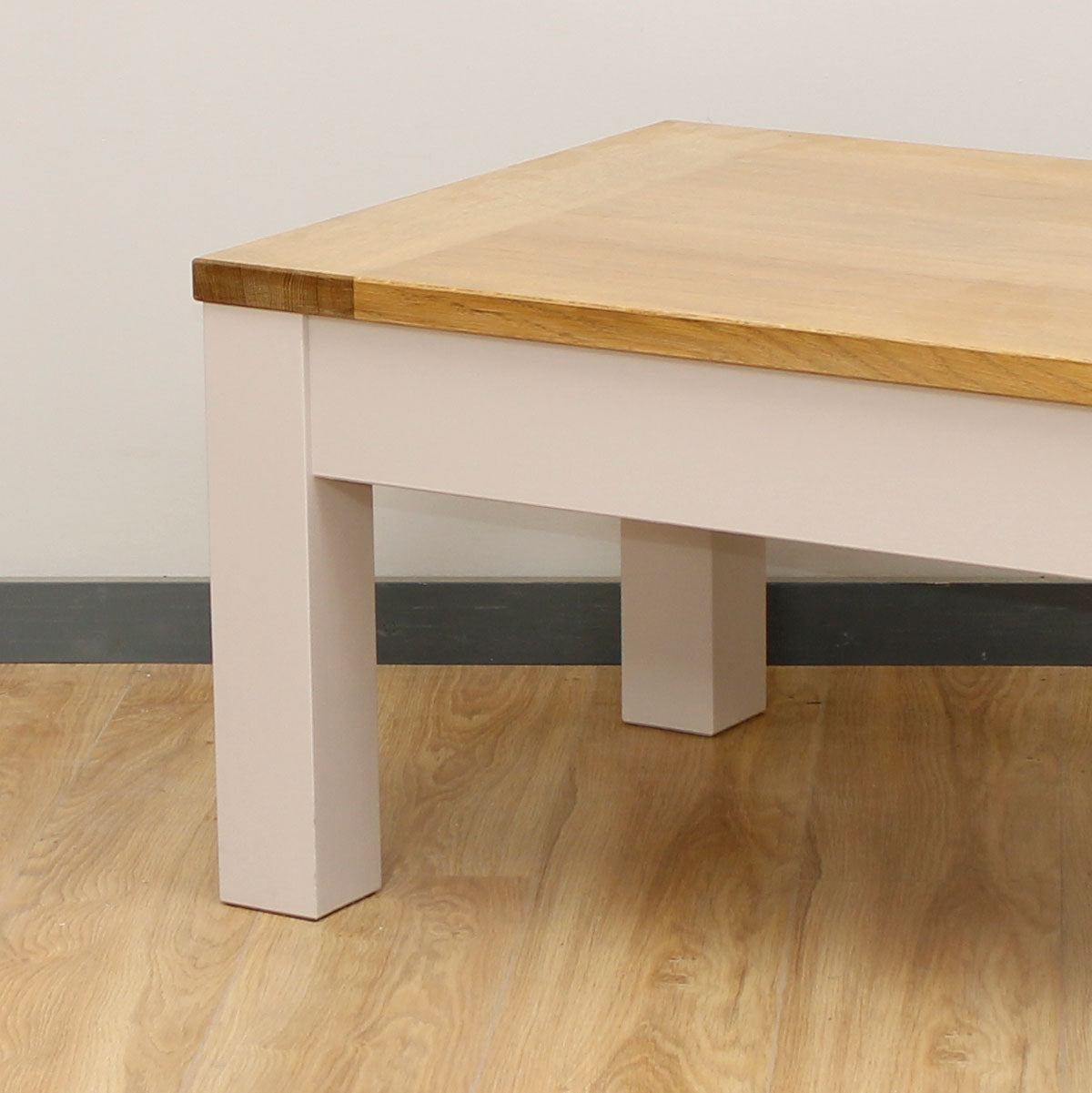 Painted Oak 1 drawer Coffee Table