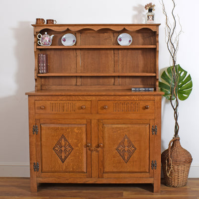 Oak Carved Dresser