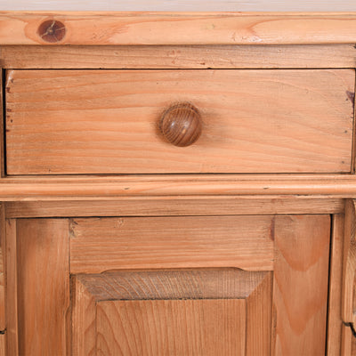 Charming Pine Bedside Table