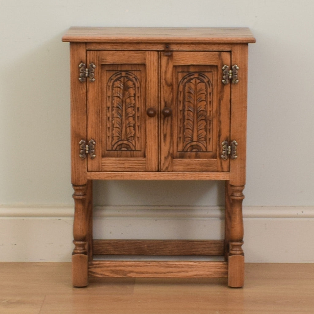 Oak Pot Cupboard