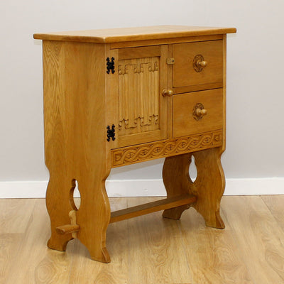 Carved Oak Cabinet