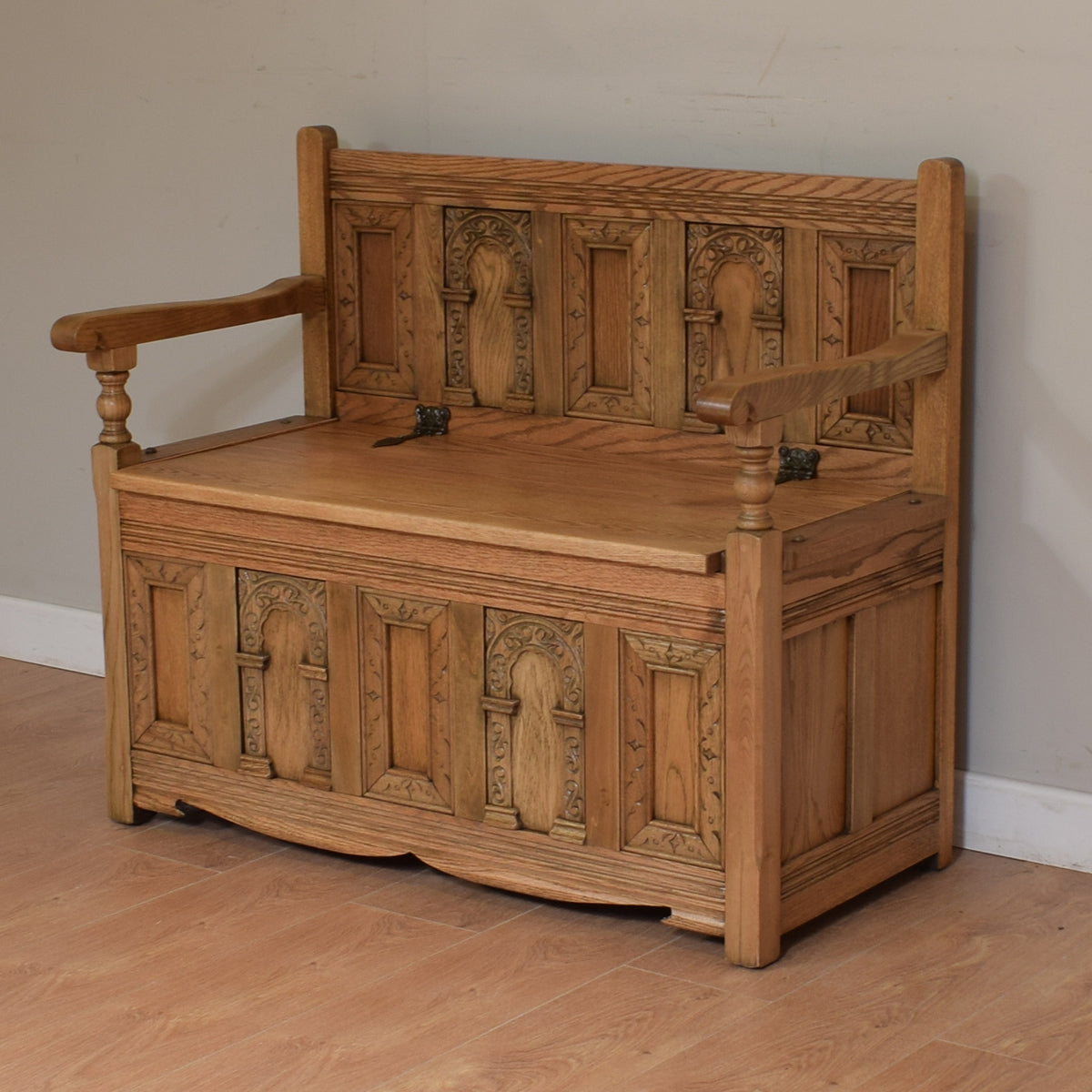 Old Charm Monks Bench