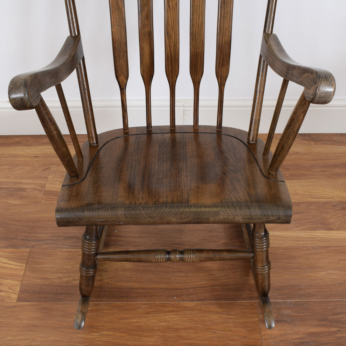 Oak Fireside Rocking Chair