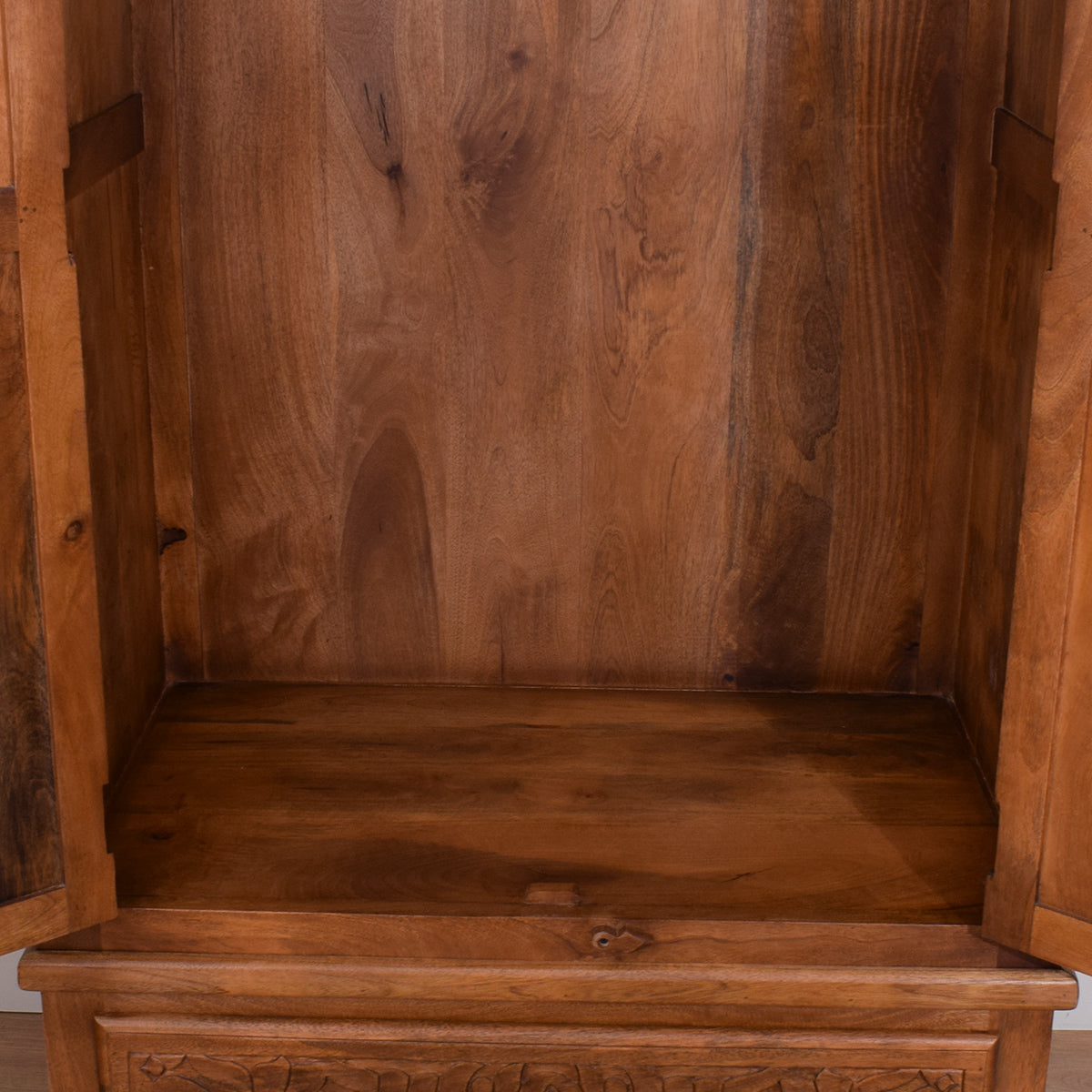Mango Carved Wardrobe