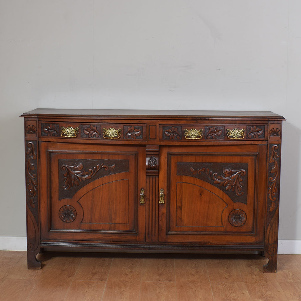 Antique Edwardian Mahogany Sideboard