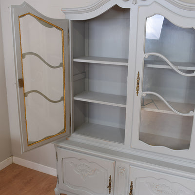 Painted French Vitrine / Display Cabinet