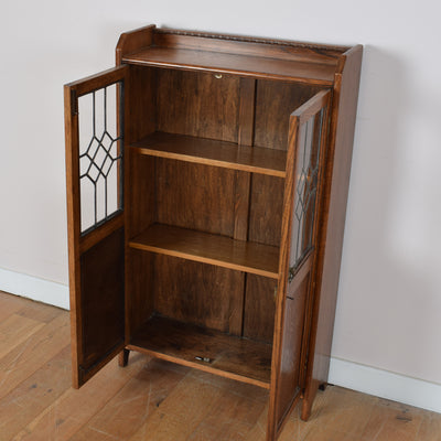 Glass cabinet/bookcase