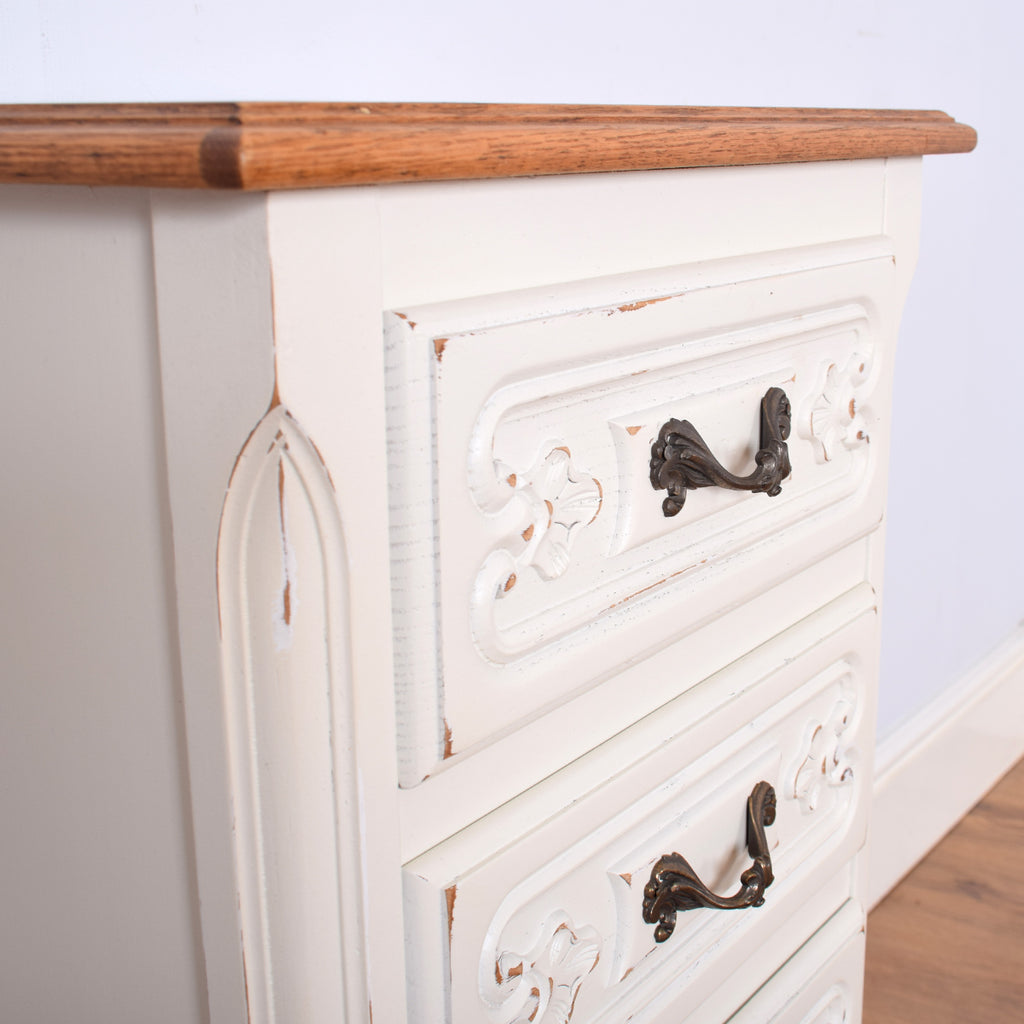 French Wellington Tall Chest of Drawers