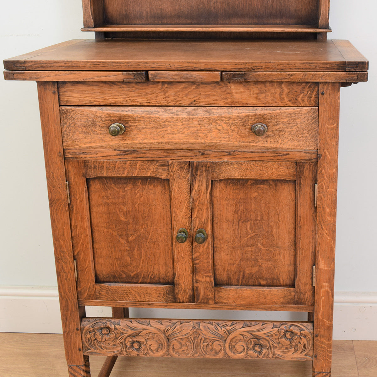 Oak Draw Leaf Dresser
