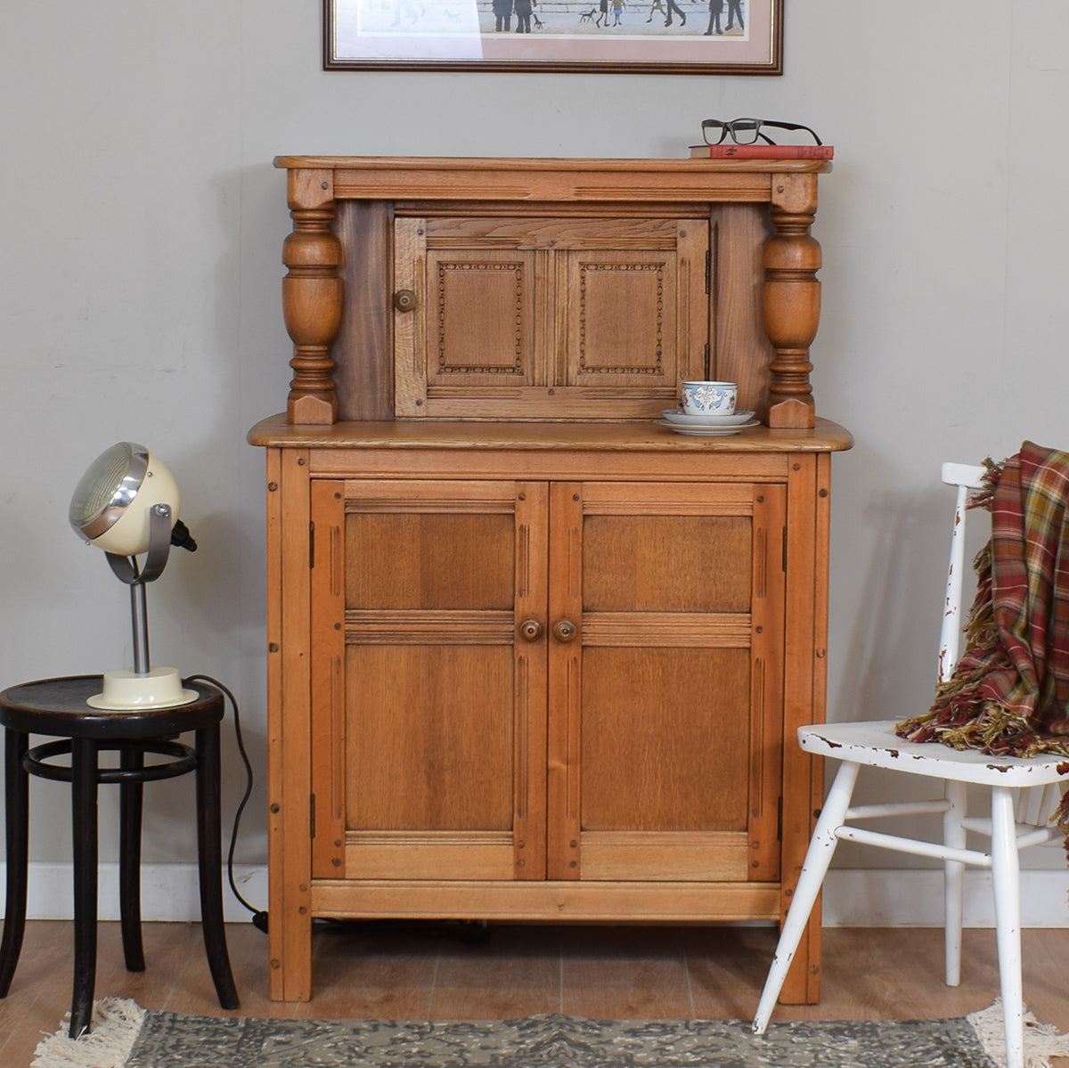 Small Ercol Court Cupboard