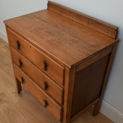 Art Deco Styled Oak Chest of Drawers