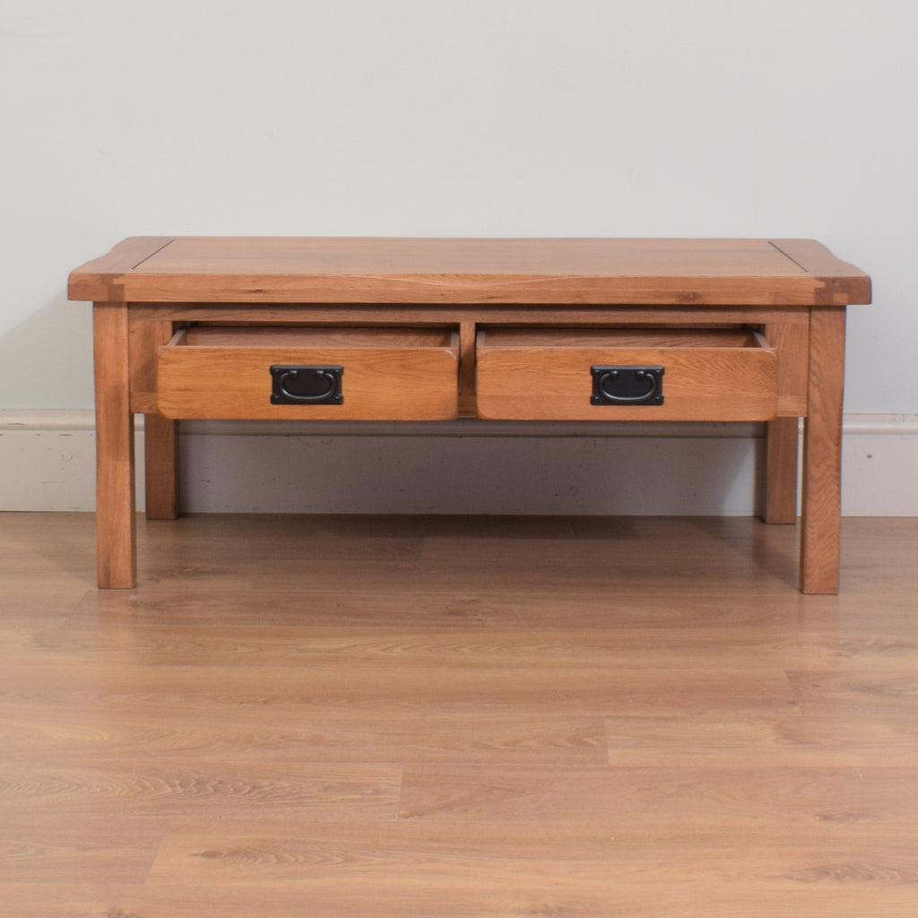 Modern Oak Coffee Table