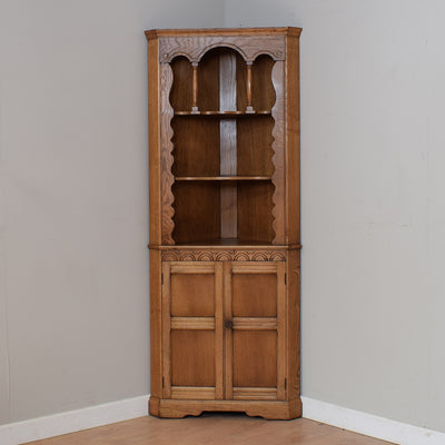 Restored Oak Corner Unit