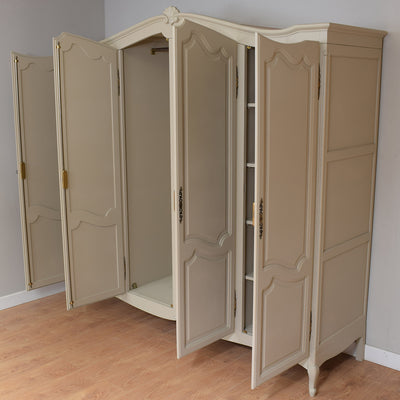 French 4 Door Wardrobe