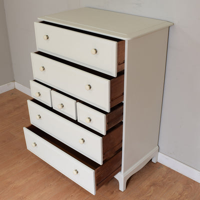 Painted Stag Chest of Drawers