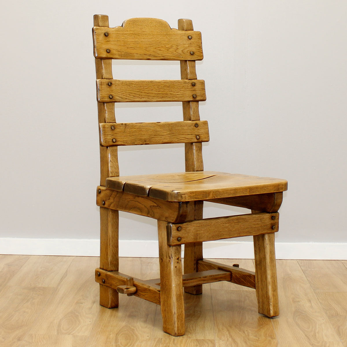 Country Oak Table & 4 Chairs
