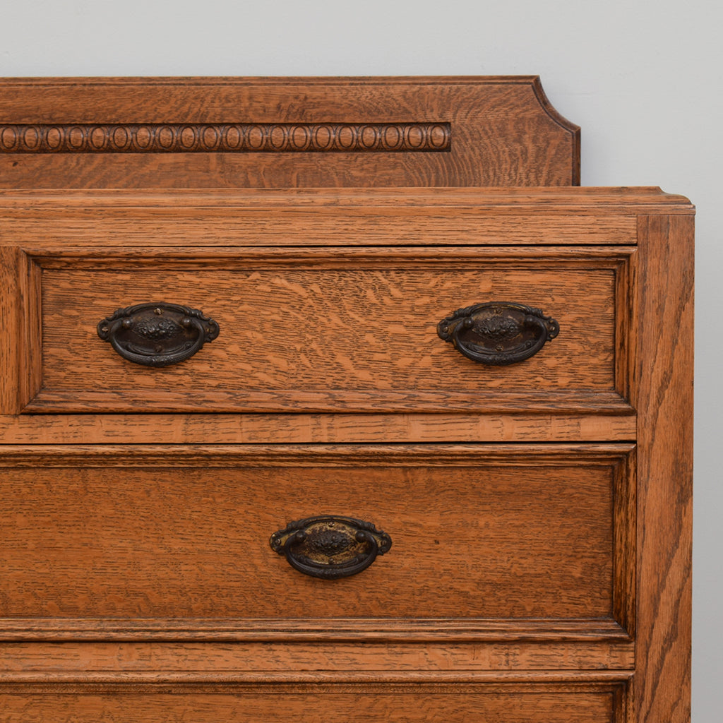Oak 2 over 2 Chest of Drawers