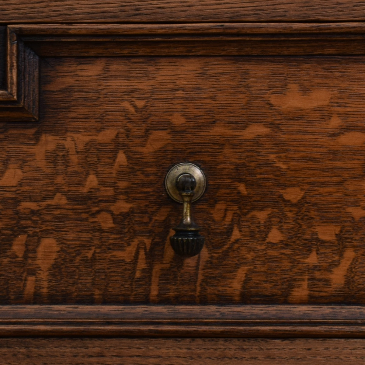 Restored Oak Vanity Chest