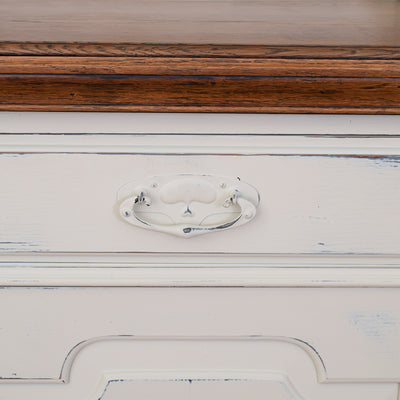 Edwardian Painted Oak Dresser
