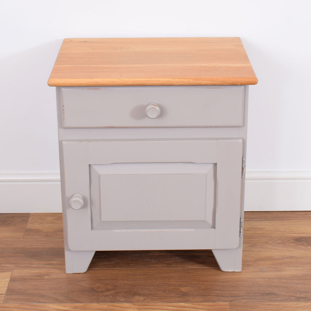 Painted Dutch Bedside/ Table