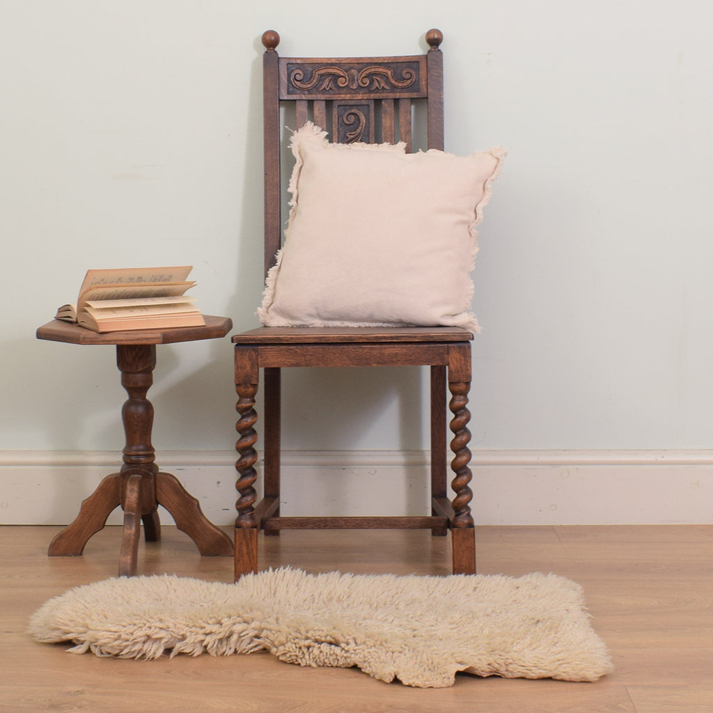 Carved Oak Chair