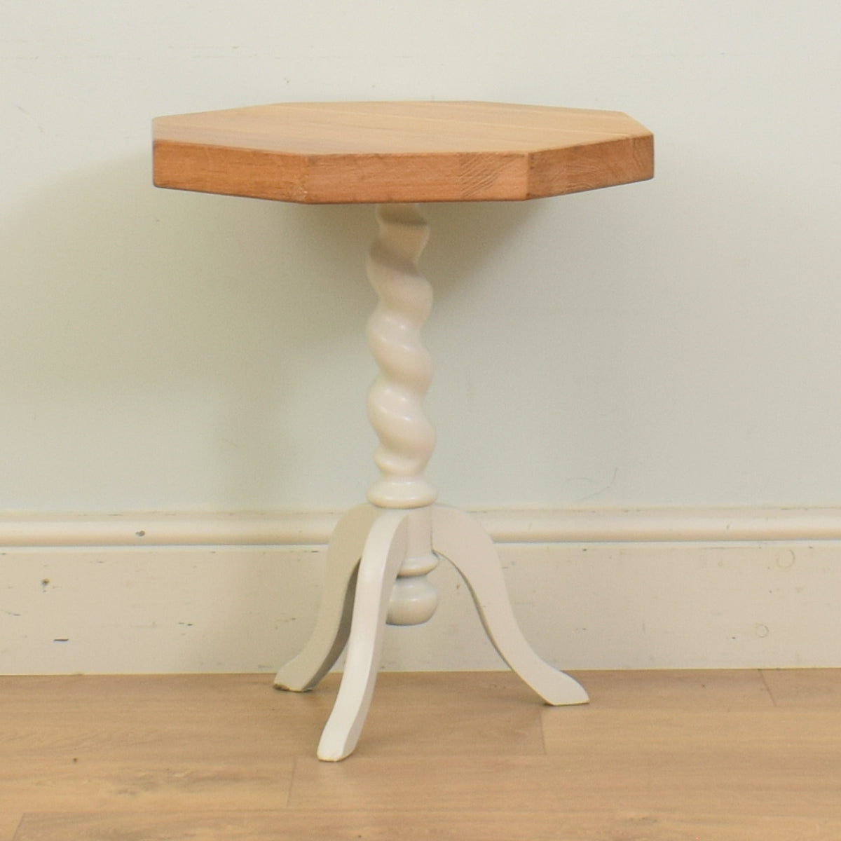 Painted Barley Twist Side Table