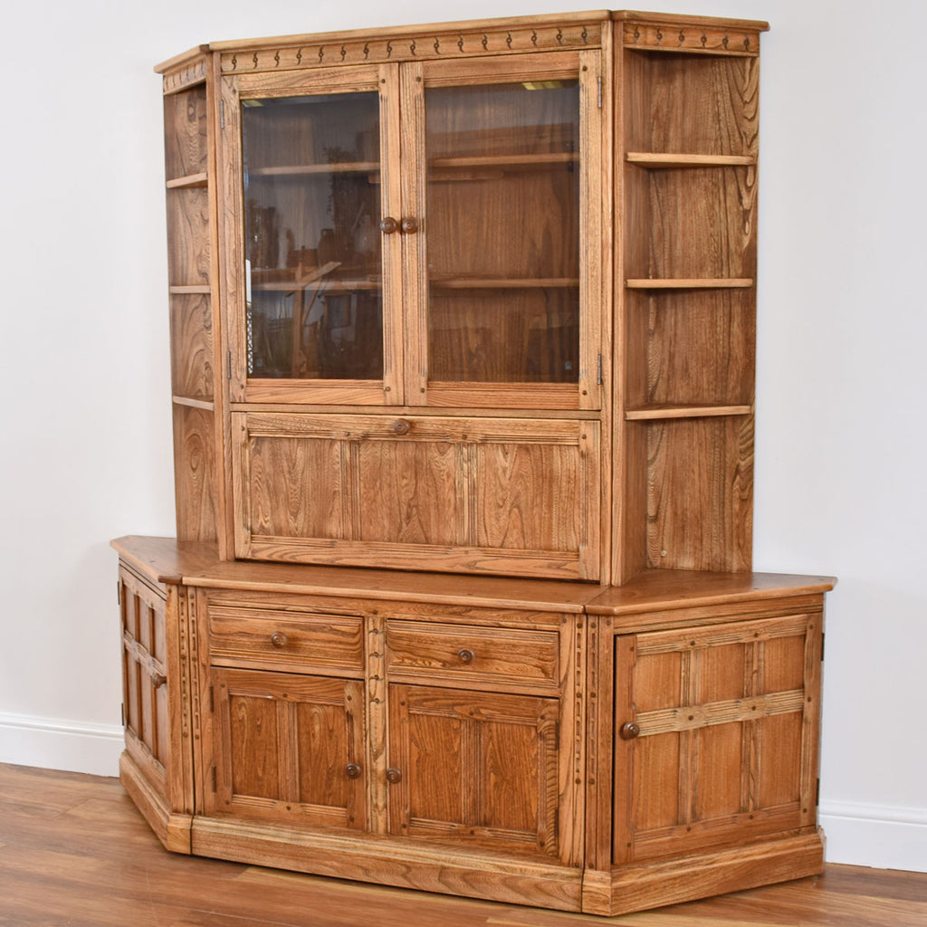 Ercol Display Cabinet
