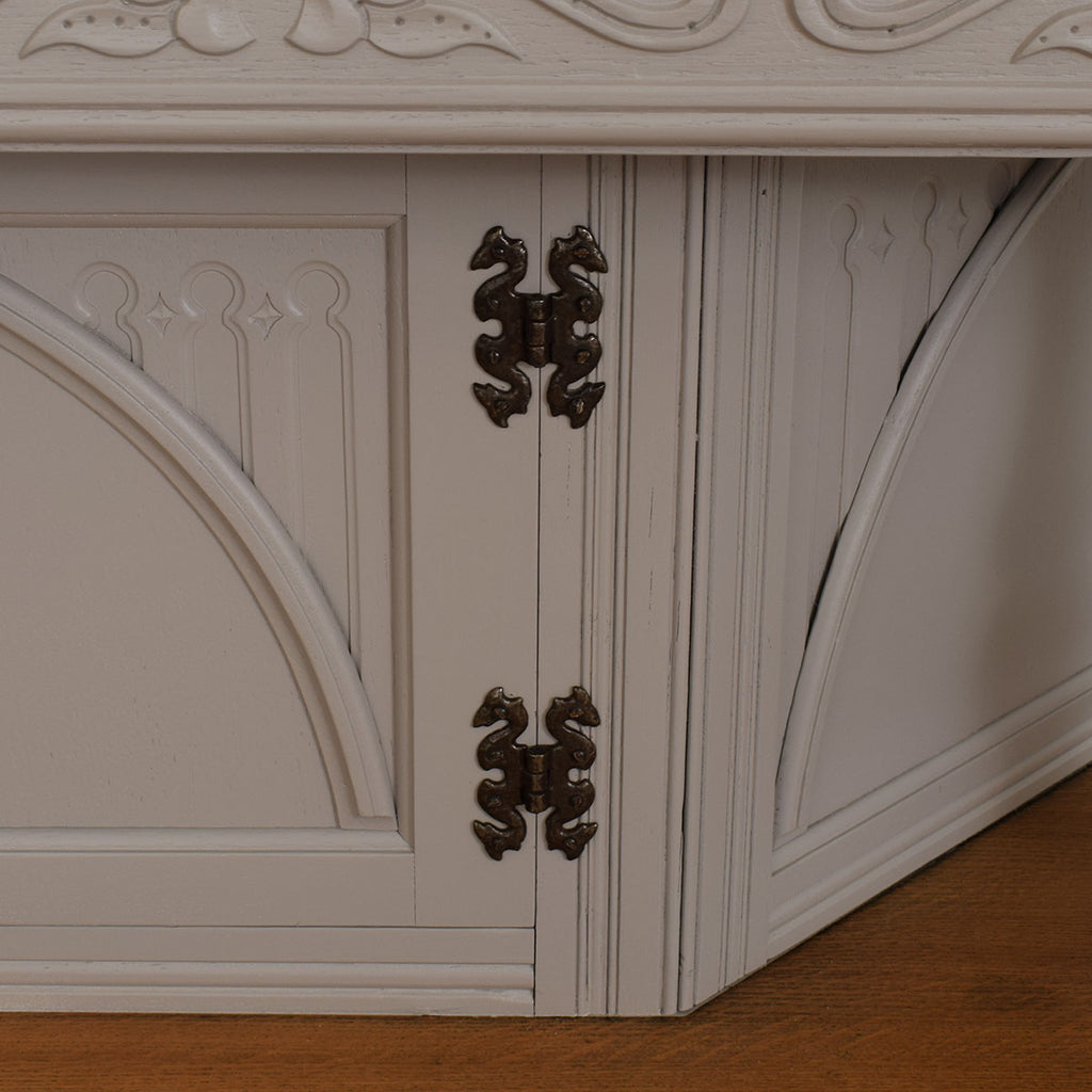 Painted Court Cabinet