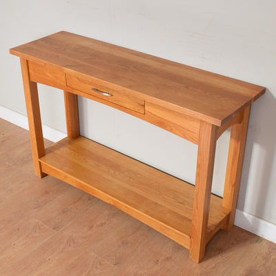 Modern Oak Console Table