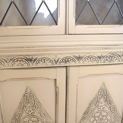 Painted JC Corner Cabinet