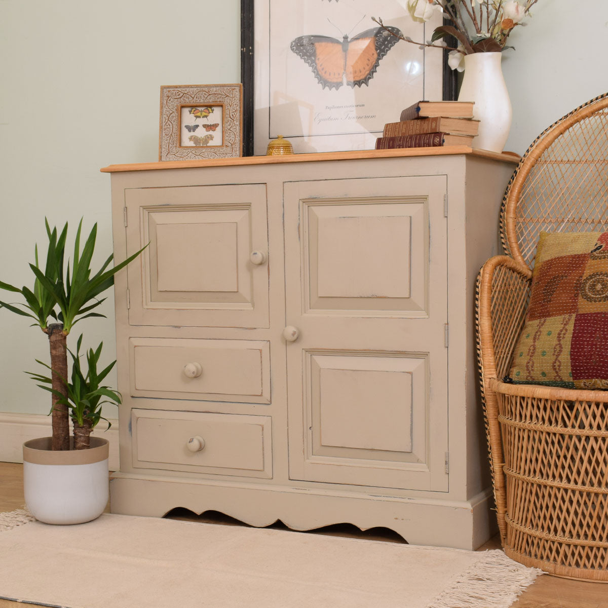 Small Painted sideboard