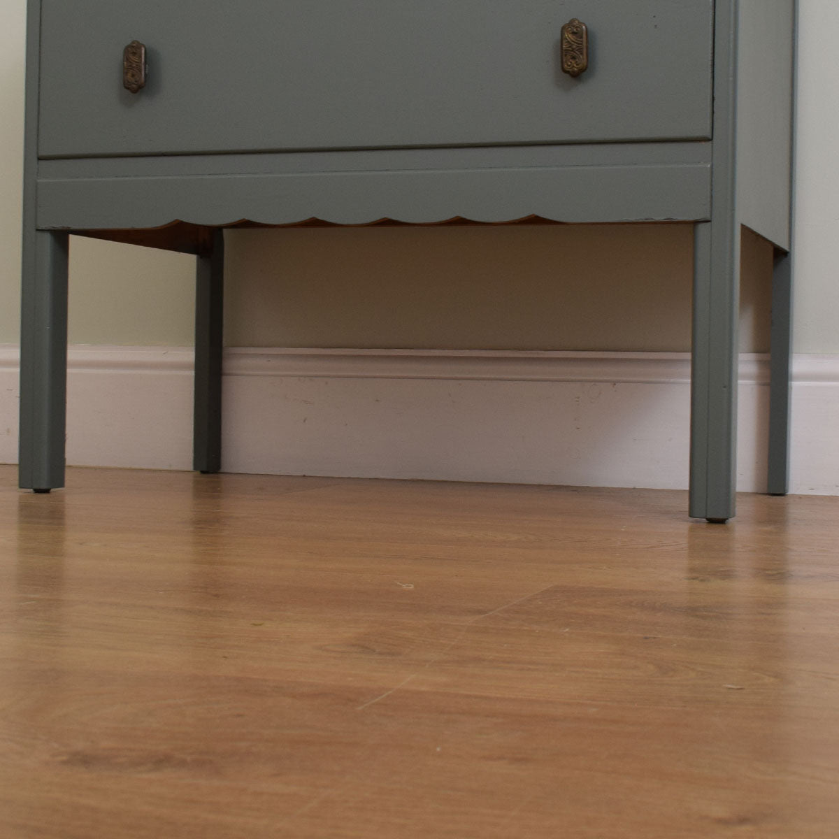 Painted Mirrored Dressing table