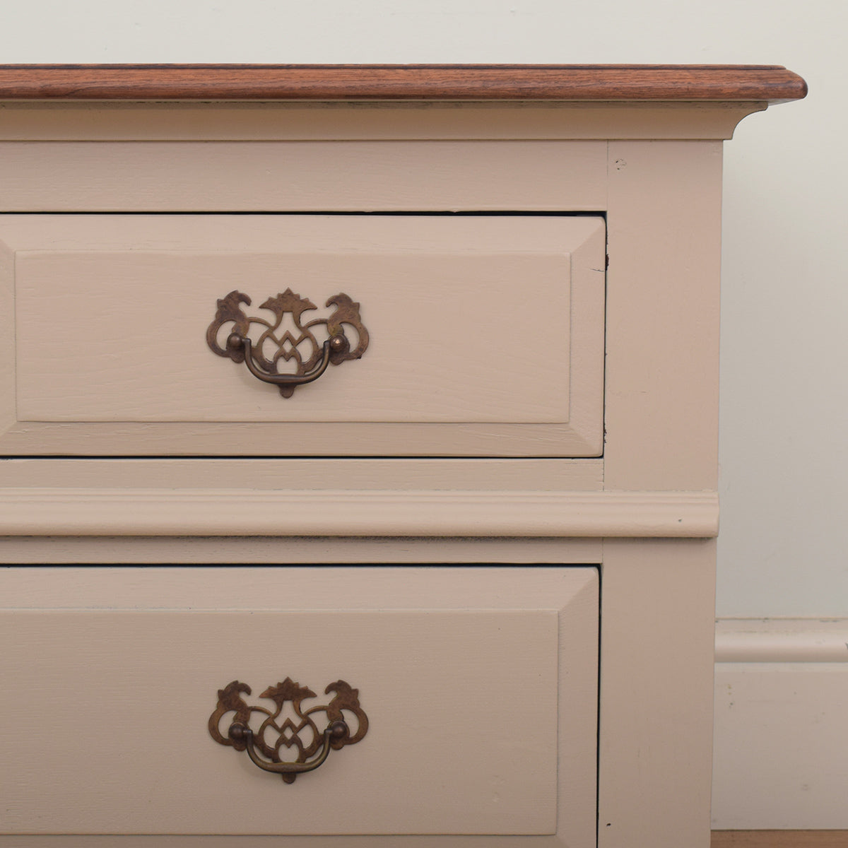 Painted Oak TV Cabinet