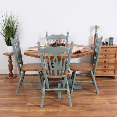 Painted Dutch Table And Chairs