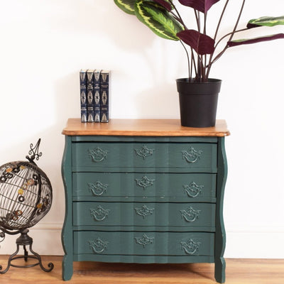 Oak Painted Chest of Drawers