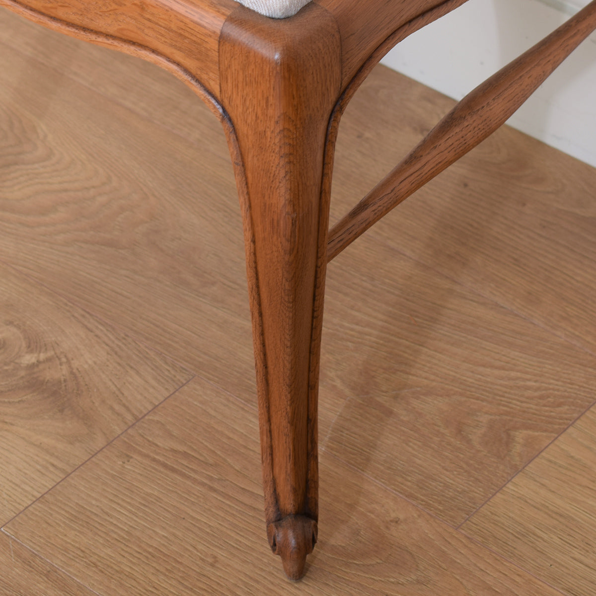 French Oak Table &  6 Chairs