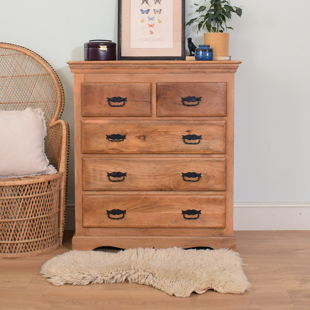 Mango 2/3 Chest of Drawers