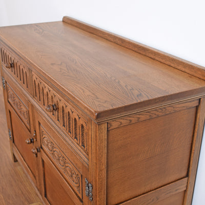 Oak Carved Sideboard