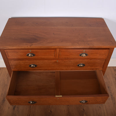 Edwardian Mahogany Chest Of Drawers