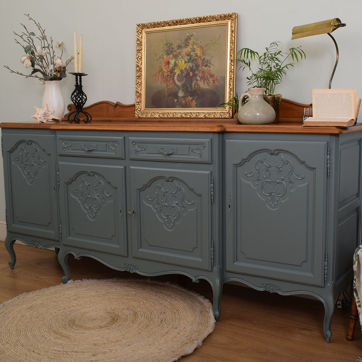 Restored French style sideboard