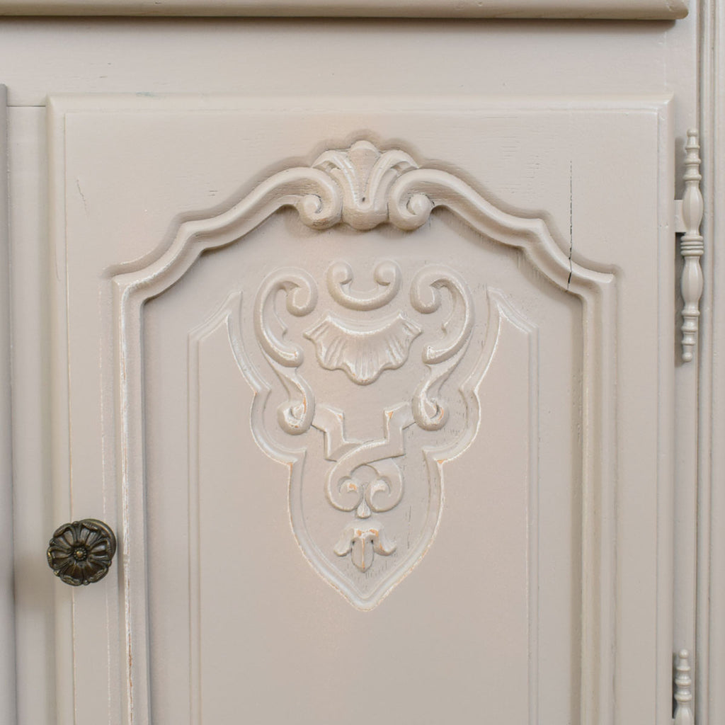 Chic Painted French Pot Cupboard